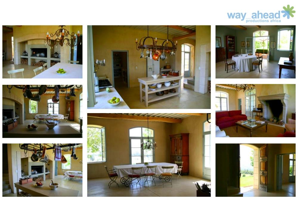 SMH Provencal Farm interior